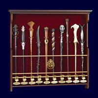 Noble Collection Harry Potter Ten Character Wand Display