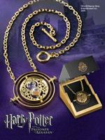 Noble Collection Harry Potter - Time-Turner Sterling Silver gold plated