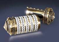 Noble Collection Da Vinci Code Replica 1/1 Cryptex
