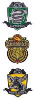 Cinereplicas Harry Potter Patches 3-Pack Deluxe Quidditch Hogwarts