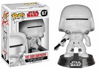 Funko Star Wars Episode VIII POP! Vinyl Bobble-Head First Order Snowtrooper 9 cm