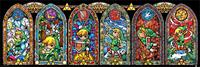 Pyramid International Legend of Zelda Mini Poster Pack Stained Glass 30 x 90 cm (5)