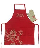 SD Toys Game of Thrones cooking apron with oven mitt Lannister