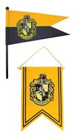 Cinereplicas Harry Potter Banner & Pennant Set Hufflepuff
