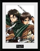 GYE Attack on Titan Framed Poster Levi 45 x 34 cm