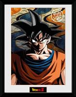 GYE Dragon Ball Z Framed Poster Son Goku 45 x 34 cm