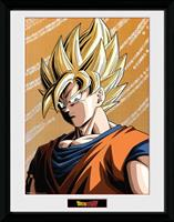 GYE Dragon Ball Z Framed Poster Goku 45 x 34 cm