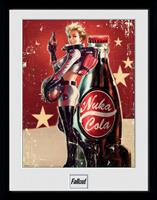 GYE Fallout Framed Poster Nuka Cola 45 x 34 cm
