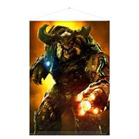 Gaya Entertainment Doom Wallscroll Cyber Demon 100 x 77 cm