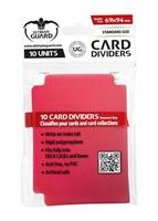 Ultimate Guard Card Dividers Standard Size Red (10)