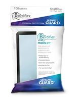 Ultimate Guard Bordifies Precise-Fit Sleeves Standard Size Black (100)