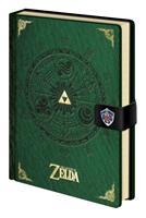 Pyramid International Legend of Zelda Premium Notebook A5 Triforce New Version