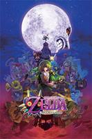 Pyramid International The Legend of Zelda Poster Pack Majoras Mask 61 x 91 cm (5)