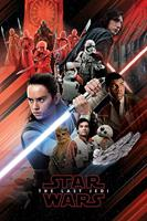 Pyramid International Star Wars Episode VIII Poster Pack Red Montage 61 x 91 cm (5)