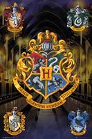 GYE Harry Potter Poster Pack Crests 61 x 91 cm (5)