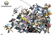 GYE Overwatch Battle Poster 91,5x61cm