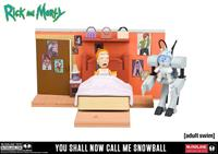 McFarlane Toys Rick and Morty Medium Construction Set You Shall Now Call Me Snowball