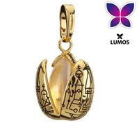 Noble Collection Harry Potter Bracelet Charm Lumos Golden Egg