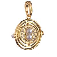 Noble Collection Harry Potter Bracelet Charm Lumos Time Turner