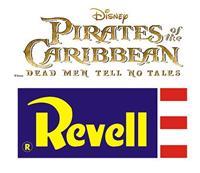 Revell Pirates of the Caribbean Dead Men Tell No Tales Easy-Click Model Kit 1/150 Black Pearl 26 cm