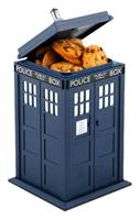 ZLTD Doctor Who Cookie Jar with Sound & Light Up Tardis