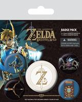 Pyramid International The Legend of Zelda Breath of the Wild Pin Badges 5-Pack Z Emblem