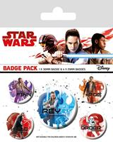 Pyramid International Star Wars Episode VIII Pin Badges 5-Pack Icons