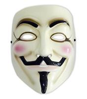 Rubies V for Vendetta Replica Guy Fawkes Mask