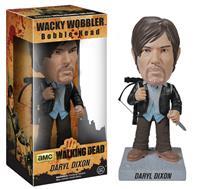 Funko The Walking Dead Wacky Wobbler Bobble-Head New Biker Daryl 18 cm