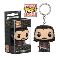 Funko Game of Thrones POP! Vinyl Keychain Jon Snow 4 cm