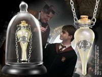 Noble Collection Harry Potter Felix Felicis Pendant and Display