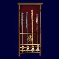 Noble Collection Harry Potter Four Character Wand Display