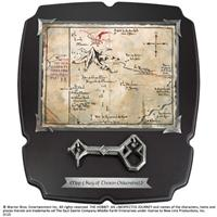 Noble Collection The Hobbit Replica 1/1 Thorin´s Oakenshield´s Map & Key Deluxe
