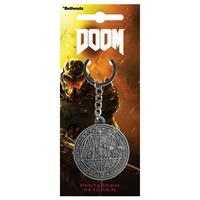 Gaya Entertainment Doom Keychain Pentagram