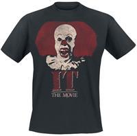 It - Stephen King Pennywise Clown Logo T-Shirt M