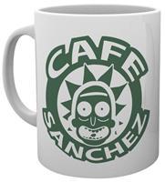 Rick and Morty - Cafe Sanchez Mug
