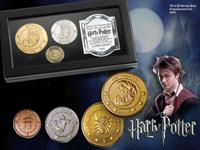 Noble Collection Harry Potter Replica The Gringotts Bank Coin Collection