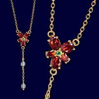 Noble Collection Harry Potter Replica 1/1 Hermione´s Red Crystal Necklace