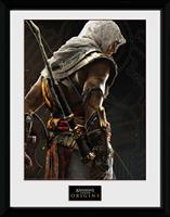 Assassin's Creed Origins Framed Print - Synchronization (30x40cm)