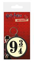 Harry Potter Rubber Keychain 9 3/4 6 cm