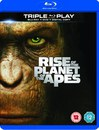 20th Century Studios Rise of the Planet of the Apes - Triple Play (Blu-Ray, DVD en Digital Copy)
