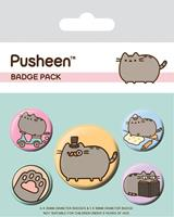 Pyramid International Pusheen Pin Badges 5-Pack Fancy