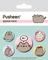 Pyramid International Pusheen Pin Badges 5-Pack Pusheen Says Hi
