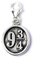 Carat Shop, The Harry Potter Clip-On Charm Platform 9 3/4 (Sterling Silver)