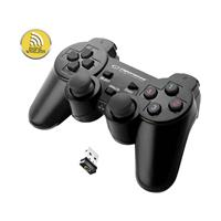 Esperanza Gladiator Wireless Gamepad for PS3/PC 2.4 GHz USB 2.0 Black EGG108K