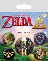 Pyramid International The Legend of Zelda Pin Badges 5-Pack Link