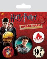 Pyramid International Harry Potter Pin Badges 5-Pack Gryffindor