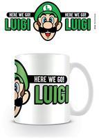 Pyramid International Super Mario Mug Here We Go Luigi