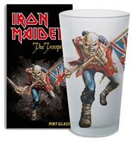 KKL Iron Maiden Pint Glass The Trooper
