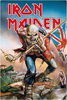 KKL Iron Maiden Tin Sign Trooper 20 x 30 cm